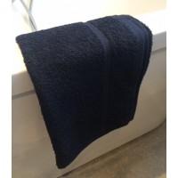 Black Hair Towel