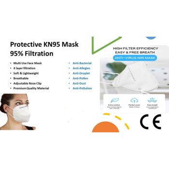 KN95 Protective Face Mask (10/50pcs)