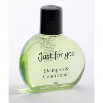 Just for You 30ml Shampoo & Conditioner Bottle