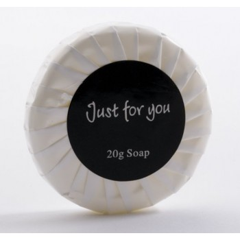 Just for You 20g Tissue Pleat Wrapped Round Soap