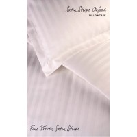 Satin Stripe Duvet Covers / Pillowcases PERCALE