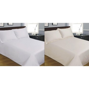 100% Cotton. 400 Thread Count Duvet Cover SET